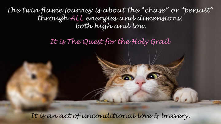 twin flame journey is the quest for the holy grail