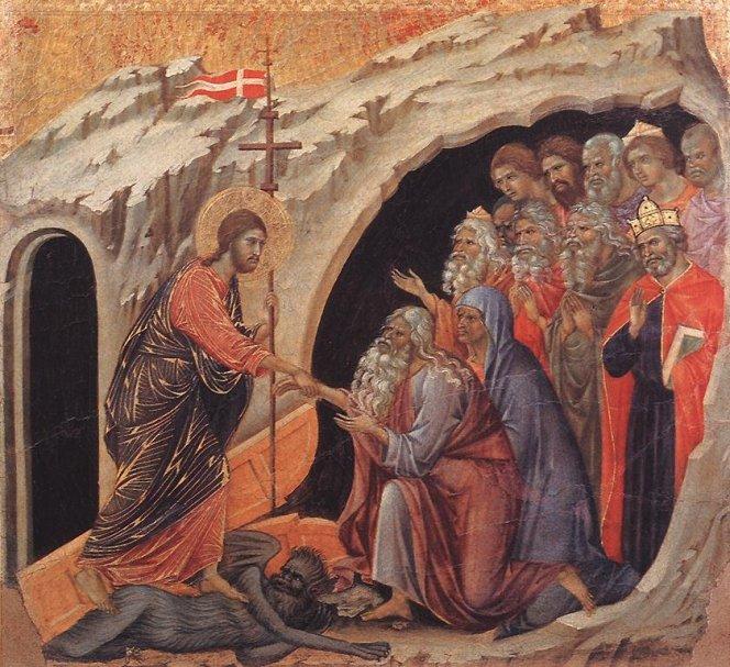 Christ in Limbo duccio_maesta