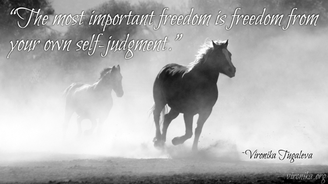Freedom-From-Self-Judgement