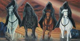 four riders horsemen horsewomen book of revelation