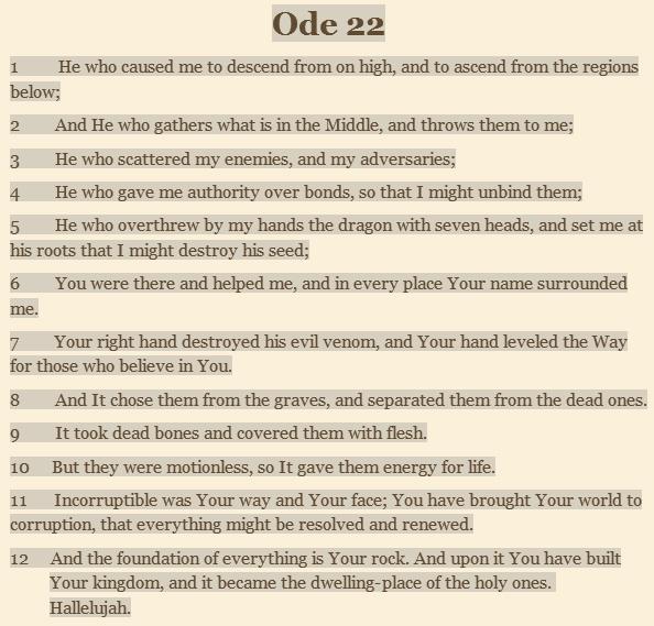 Ode 22