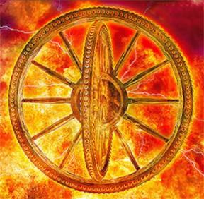 Ezekiel and Daniels merkaba wheel chariot