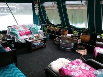 2018 houseboat garden