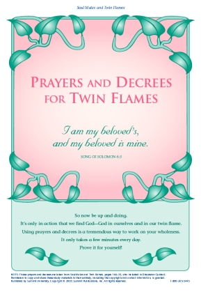 prayers and decrees twin flame