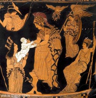athena and Erichthonius