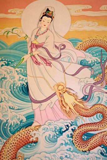 kwan yin quan yin dragon