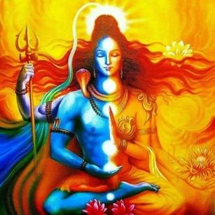 the ardhnarishwa divine masculine and feminine chakra balanced
