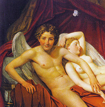 cupid desire god coeus with psyche thought goddess athena
