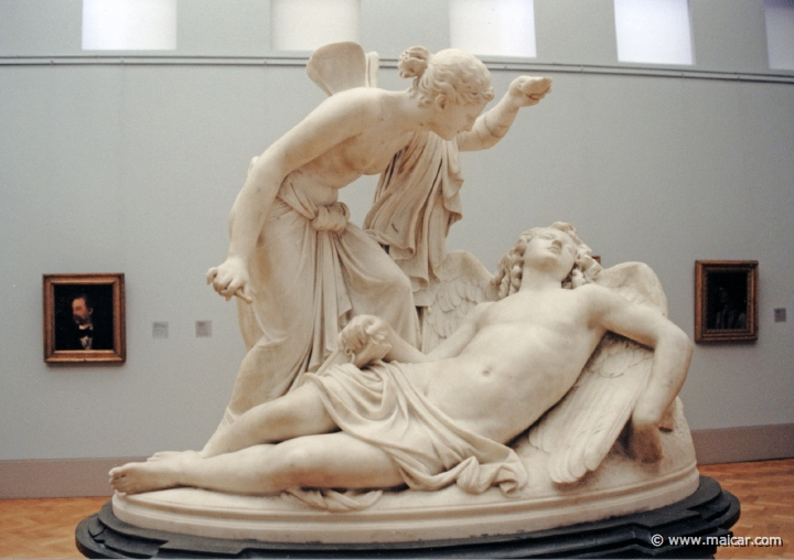 Psyche-Thought-Eros-Cupid